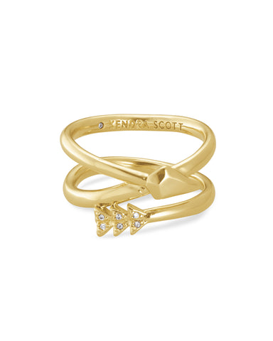 Zoey Gold Wrap Ring