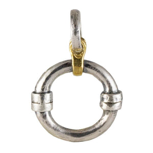 Orbit Charm Catcher - Sterling Silver Charm Clip