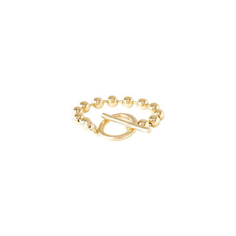 On/Off Bracelet in Gold