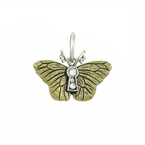 Rise Butterfly Charm