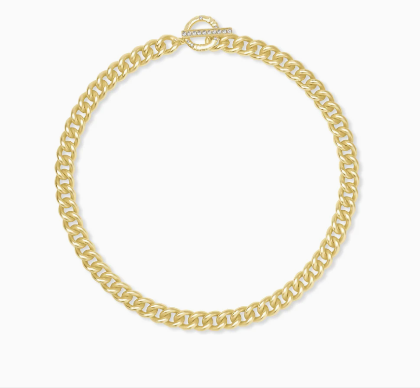 Whitley Chain Necklace in Gold