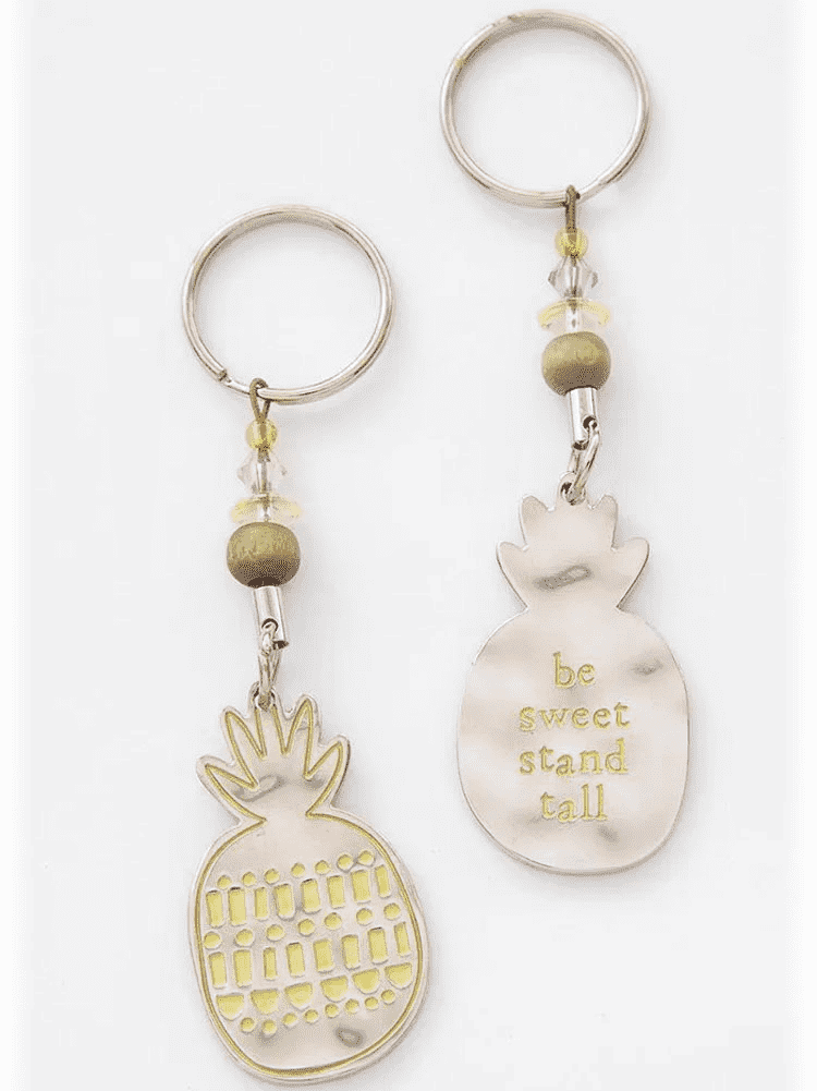 Pineapple Token Keychain