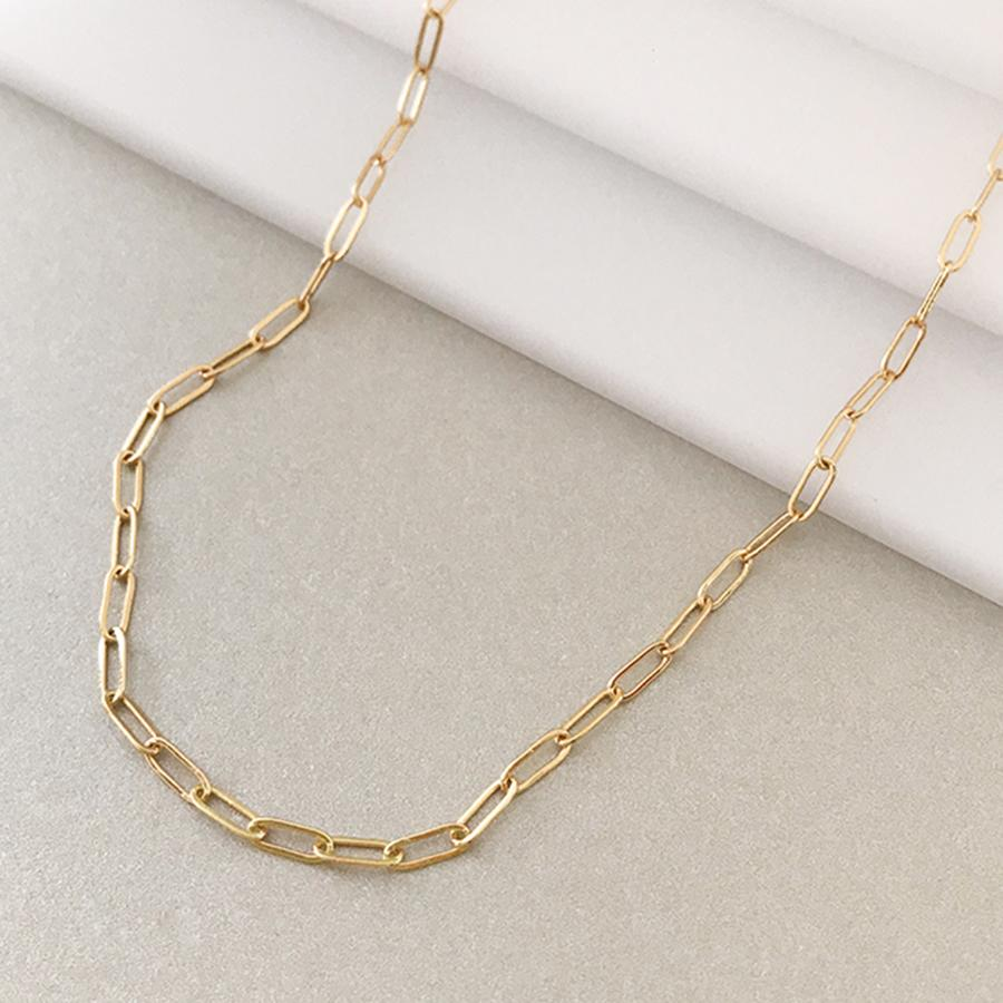 Harper Chain Link Necklace