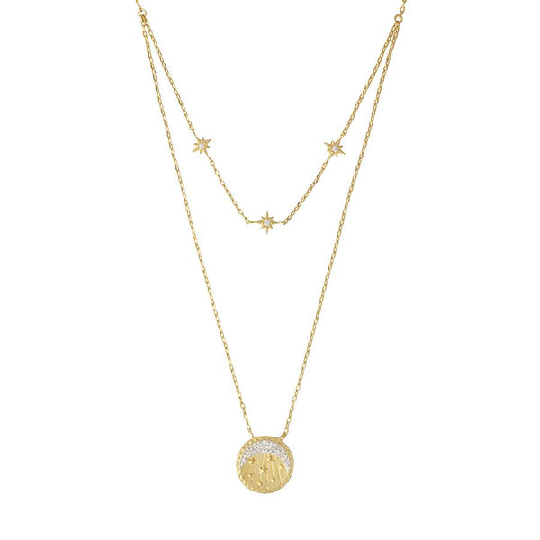 Be the Light Gold Necklace