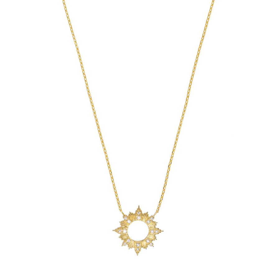 Sunseeker Gold Necklace
