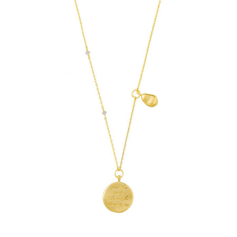 See the World Gold Necklace