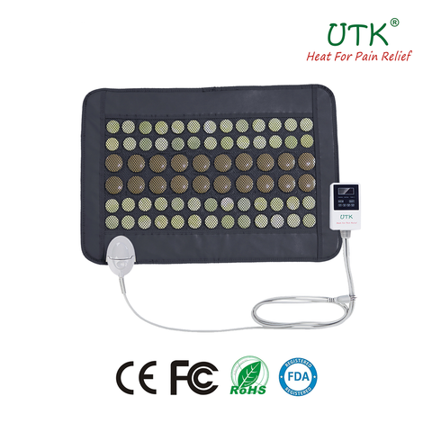 Infrared Heating Pad with Jade and Tourmaline Stones