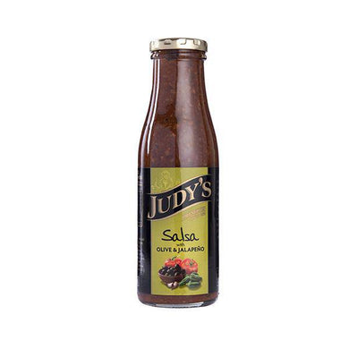 Salsa Olive & Jalapeno 380g - Sauces - Judy's