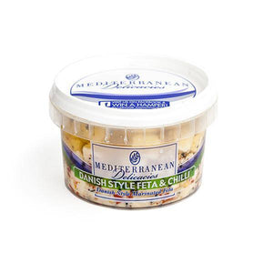 Danish Feta & Chilli 270g - Cheese - Mediterranean Delicacies