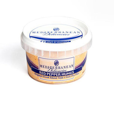 Humus Red Pepper 190g - Mediterranean Delicacies