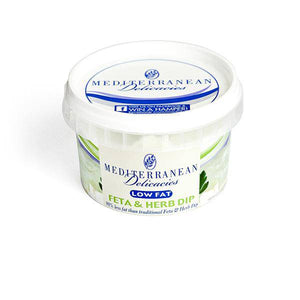 Feta & Herb (Low Fat) Dip 190g - Dips - Mediterranean Delicacies