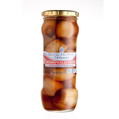 Brown Pickled Onions 375g - Pickles - Mediterranean Delicacies