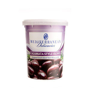 Calamata Style Olives 700g - Olives - Mediterranean Delicacies