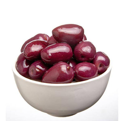 Calamata Style Olives (Medium) 3kg Tin - Mediterranean Delicacies