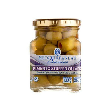Green Stuffed Pimento 250g - Olives - Mediterranean Delicacies