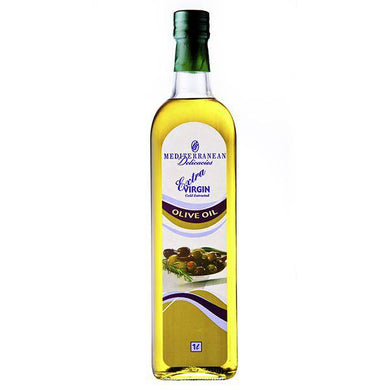 Extra Virgin Olive Oil (Glass) 1 Litre - Oils - Mediterranean Delicacies