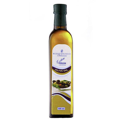 Extra Virgin Olive Oil (Glass) 500ml - Mediterranean Delicacies