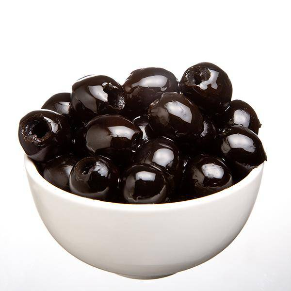 Black Pitted Olives 3kg (Tin) - Not suitable for table Olives - Olives - Mediterranean Delicacies