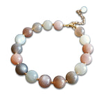 Bracelet Pierre de Lune<br> 8 mm Or