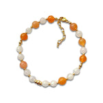 Bracelet Pierre de Lune Orange