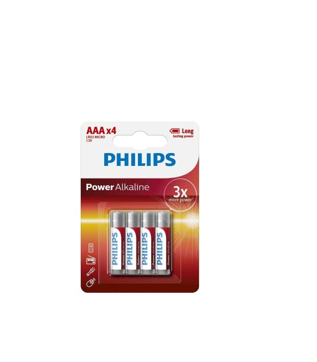 Elementai PHILIPS Power Life AA/R6 B4