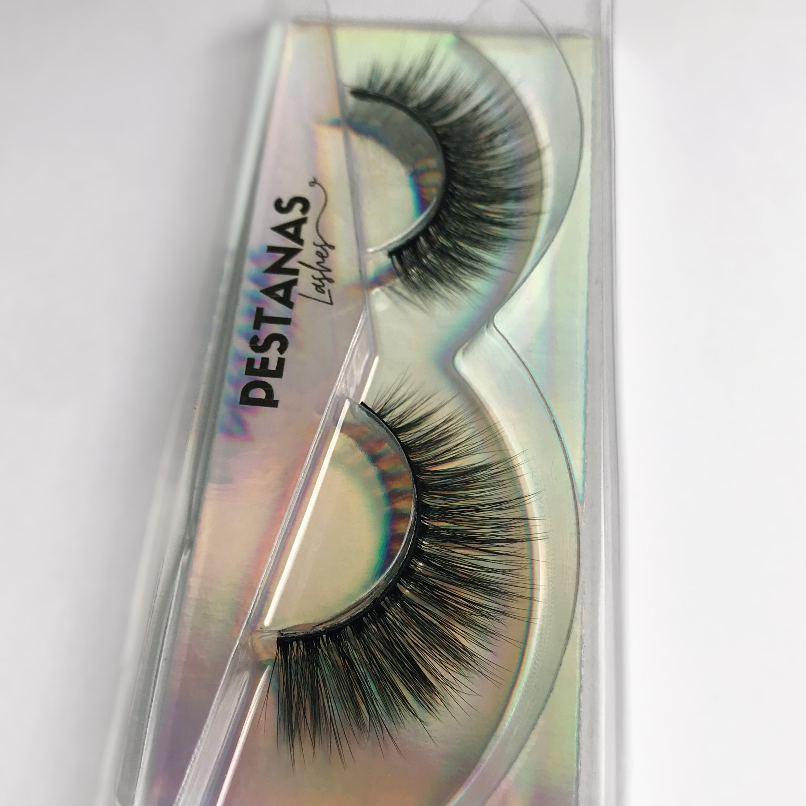 Faux cils Ray of light - naturel belle courbe - bande noire - Pestanas Lashes