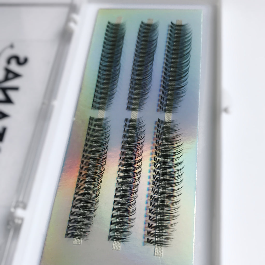 Faux cils individuels Natural - effet ultra naturel jolie courbe - Pestanas Lashes
