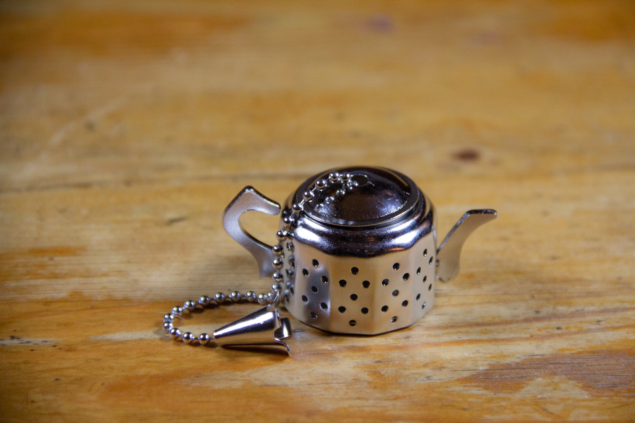 Teapot Shaped Strainer