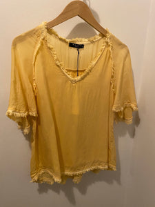 Maven West yellow top