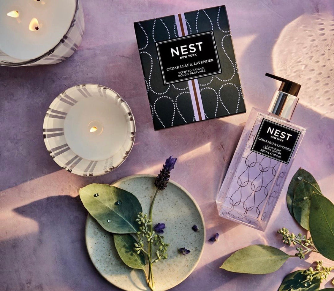 Nest Cedar Leaf and Lavender hand soap