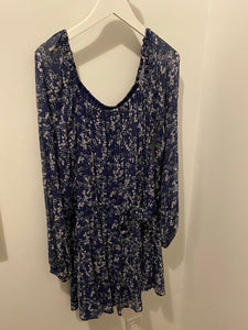 Paige Blue Print Dress