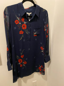 Joie Print Shirt Dress