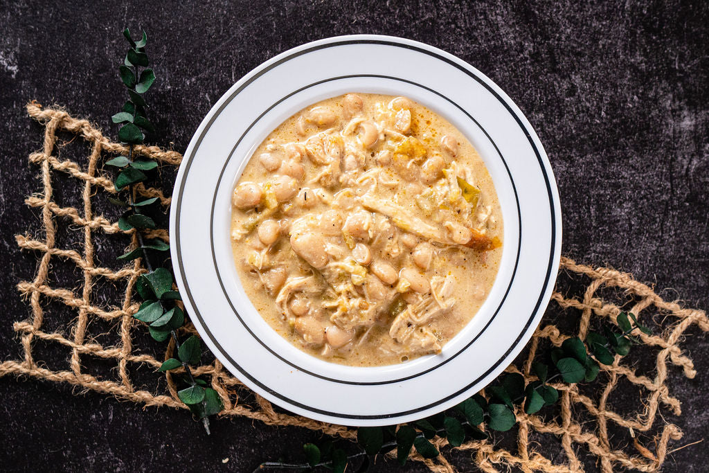 MEAL OF THE MONTH - White Chicken Chili