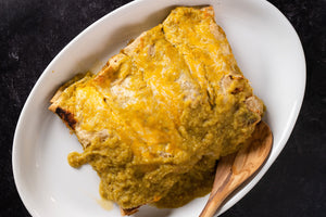 Green Chili Chicken Enchiladas - Serves 4