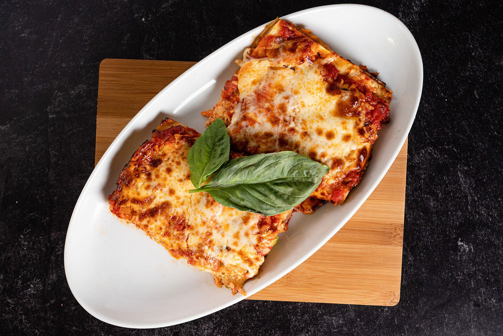 MEAL OF THE MONTH - Lasagna (Vegetarian) - Serves 4