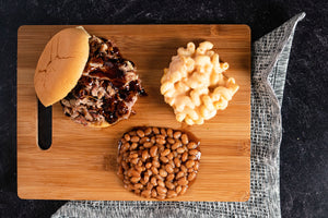 Pulled Pork BBQ w/sides - Serves 4