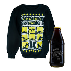 crewneck ugly sweater 2020 cold brew