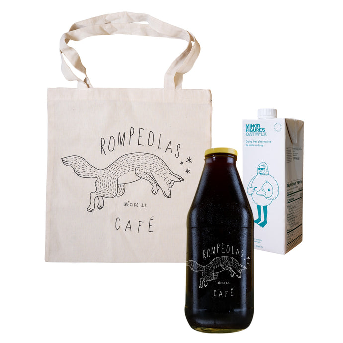 bundle cold brew minor figures tote bag