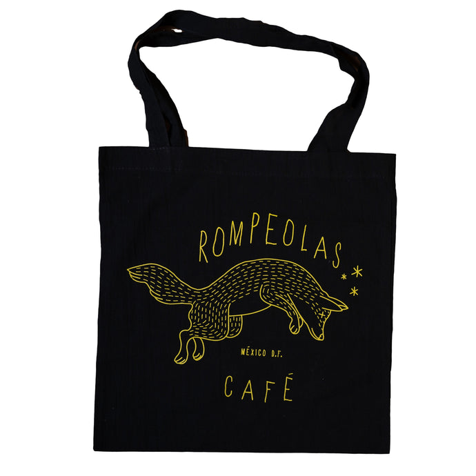 tote bag negra coyote