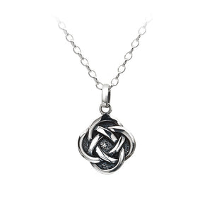 Solid Knot Pendant - Celtic Dawn - Jewellery Arts Crafts & Gifts