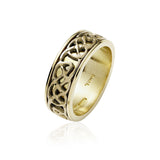 Wide Inlayed Knotwork Band - Celtic Dawn - Jewellery Arts Crafts & Gifts - 3