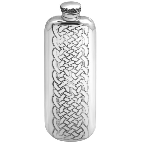 3oz Knotwork Hip Flask