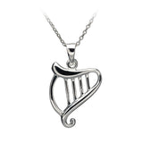 Celtic Harp Pendant - Celtic Dawn - Jewellery Arts Crafts & Gifts  - 1