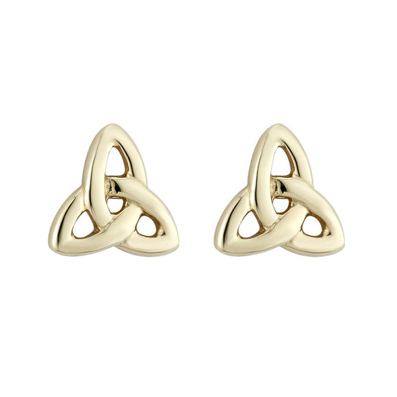 Triquetra Stud Earrings