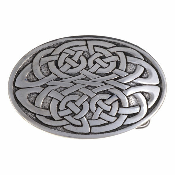 Solid Knotwork Belt Buckle