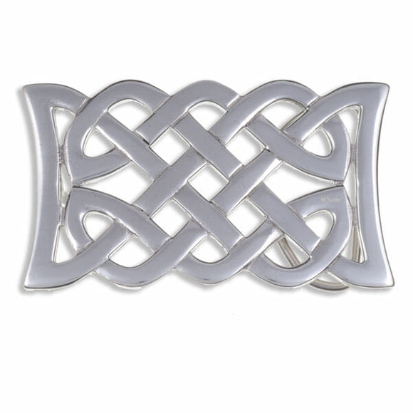 Interwoven Knotwork Belt Buckle (Large)
