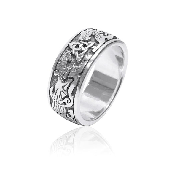 Circle of Life Dragon Ring