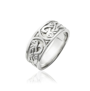 Celtic Serpent Ring (Gents) - Celtic Dawn - Jewellery Arts Crafts & Gifts - 1
