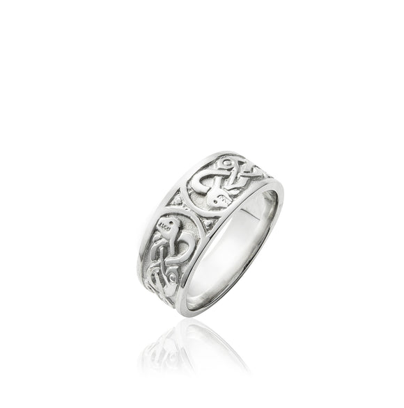 Celtic Serpent Ring (Ladies) - Celtic Dawn - Jewellery Arts Crafts & Gifts - 1