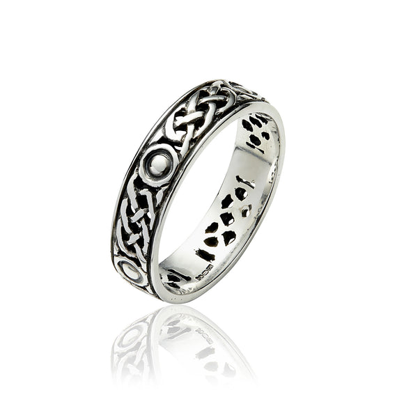 Open Knot Eternity Band - Celtic Dawn - Jewellery Arts Crafts & Gifts - 1